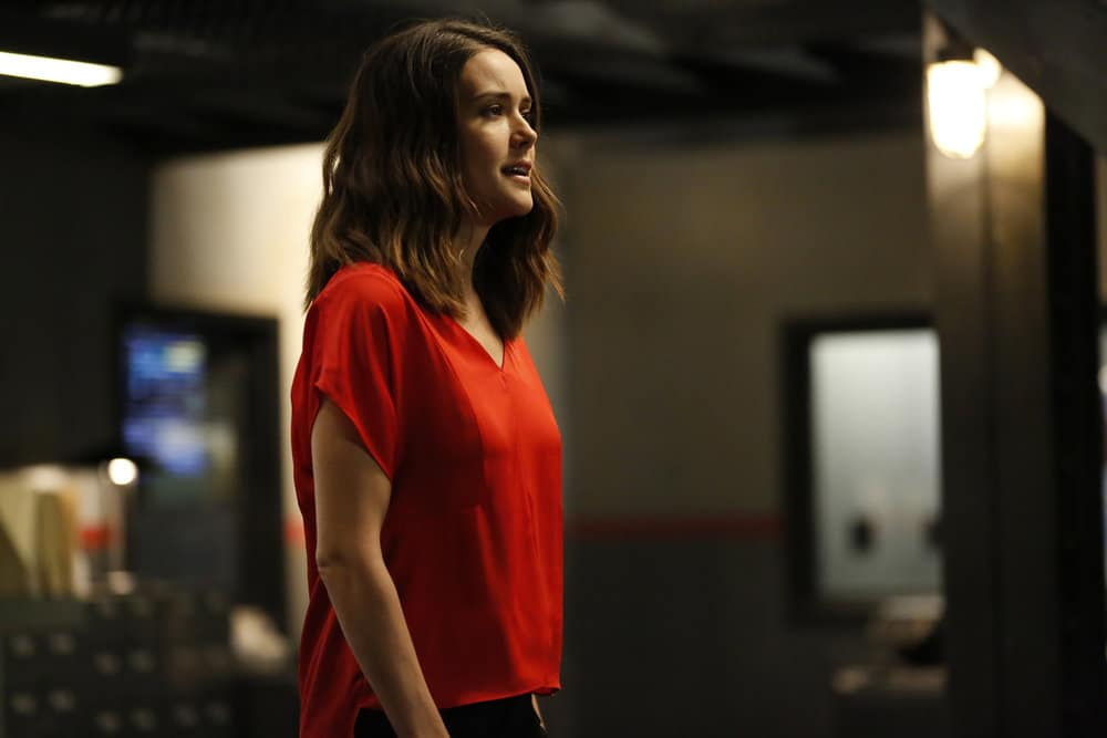 """THE BLACKLIST -- """"Greyson Blaise"""" Episode 502 -- Pictured: Megan Boone as Elizabeth Keen -- (Photo by: Will Hart/NBC)"""