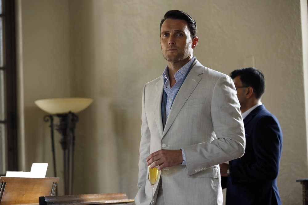 """THE BLACKLIST -- """"Greyson Blaise"""" Episode 502 -- Pictured: Owain Yeoman as Greyson Blaise -- (Photo by: Will Hart/NBC)"""