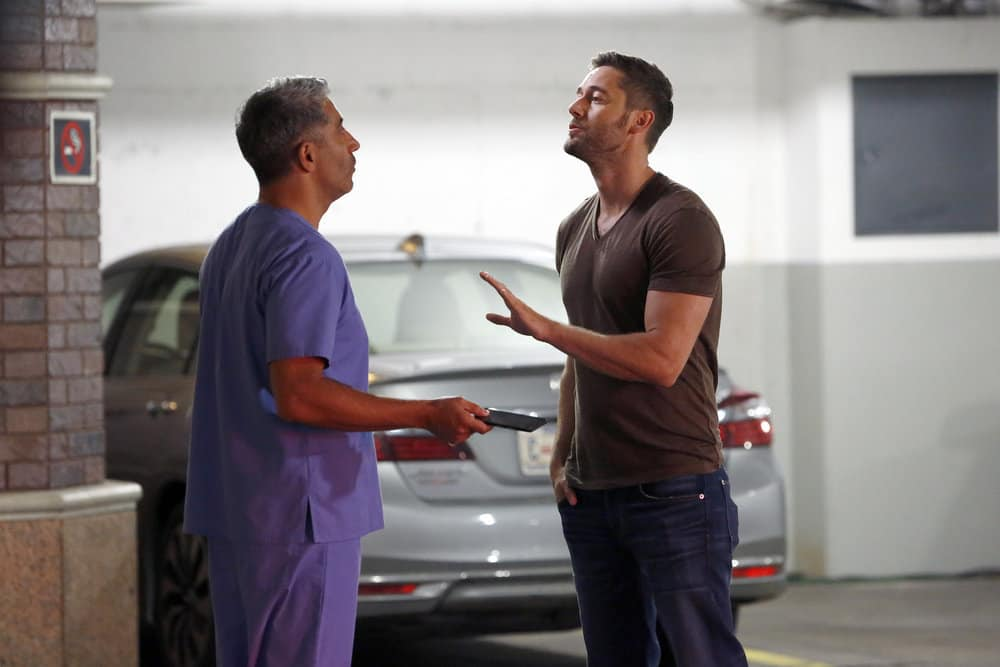 """THE BLACKLIST -- """"Greyson Blaise"""" Episode 502 -- Pictured: (l-r) Piter Marek as Nik Korpal, Ryan Eggold as Tom Keen -- (Photo by: Will Hart/NBC)"""
