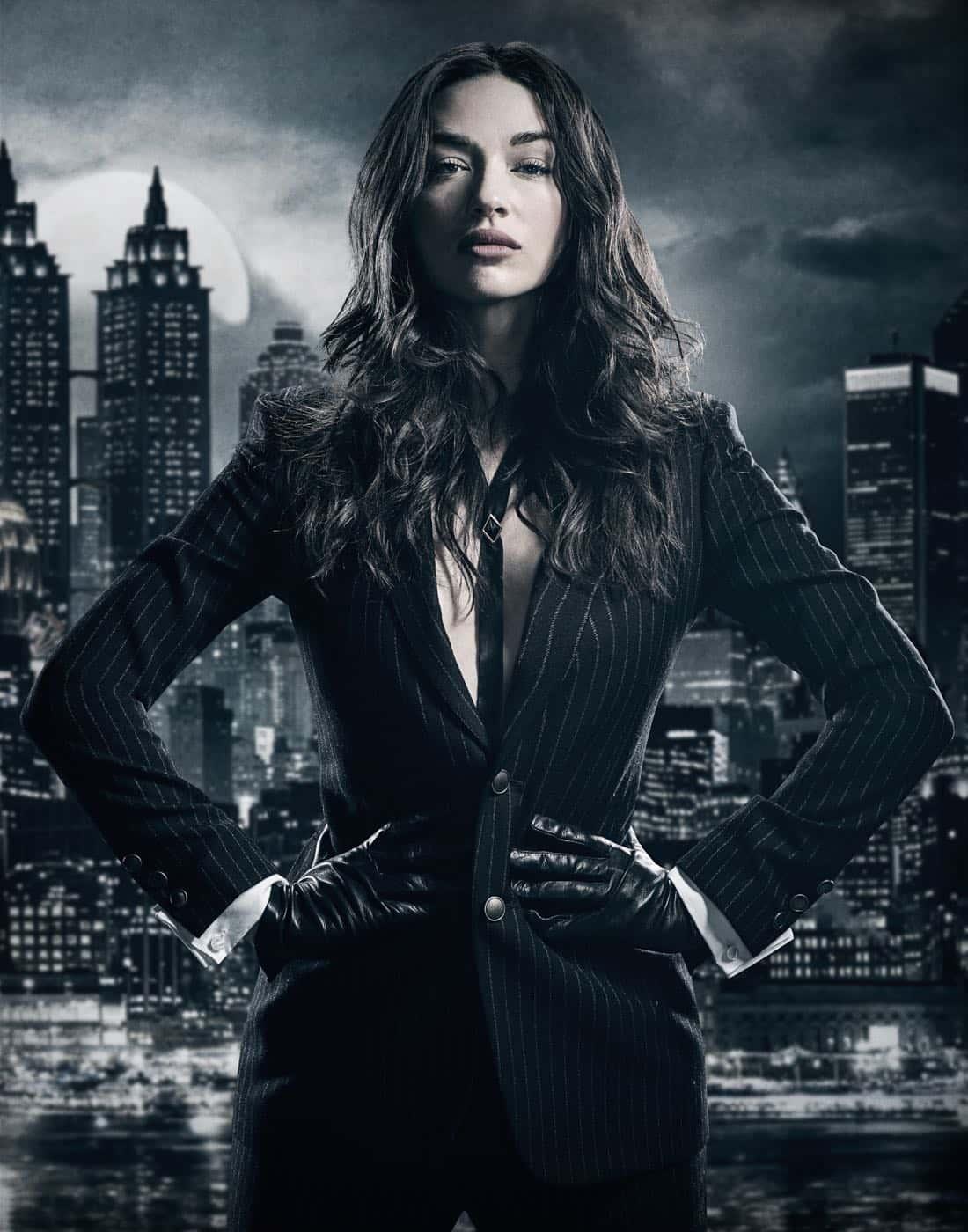 Crystal Reed. Season 4 of GOTHAM