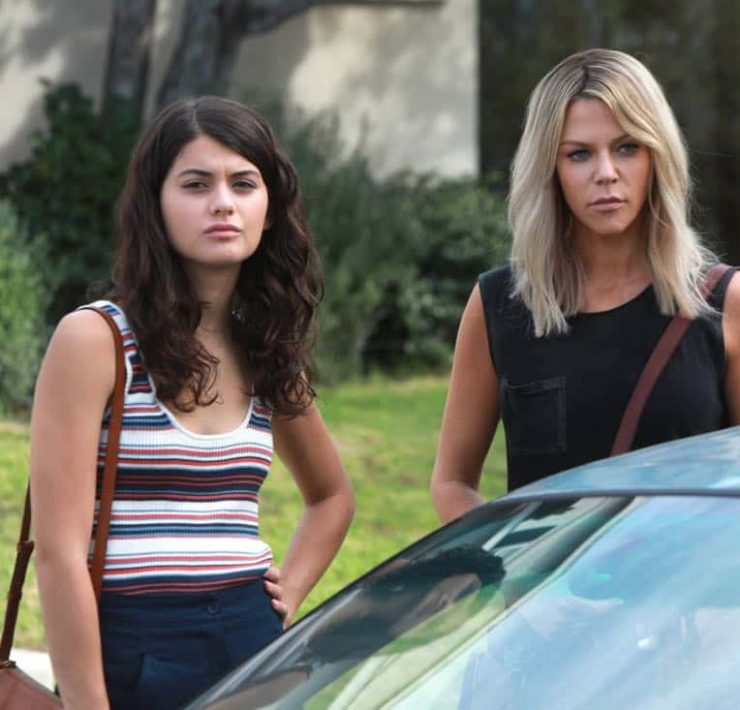 "THE MICK: (L-R) Sofia Black-D'Elia and Kaitlin Olson in the ""The Hotel"""