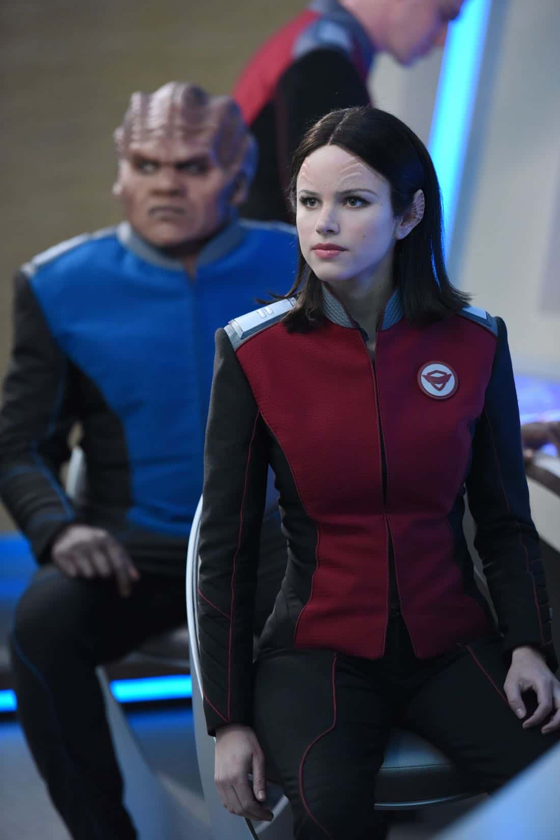 "THE ORVILLE: L-R: Peter Macon and Halston Sage in the ""If the Stars Should Appear"""