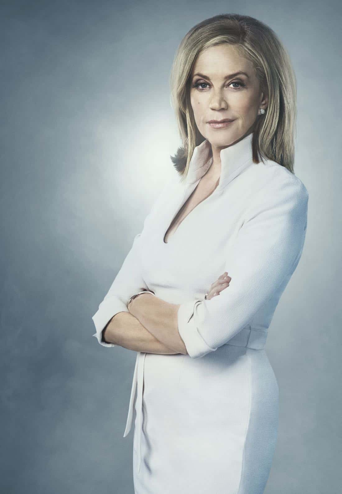GHOSTED: Ally Walker in GHOSTED premiering Sunday, Oct. 1 (8:30-9:00 PM ET/PT) on FOX. ©2017 Fox Broadcasting Co. CR: Scott Council /FOX