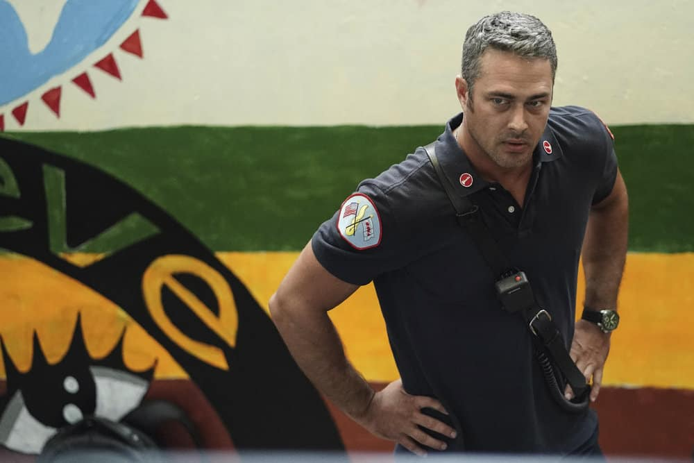 """CHICAGO FIRE -- """"Ignite on Contact"""" -- Episode 602 -- Pictured: Taylor Kinney as Kelly Severide -- (Photo by: Elizabeth Morris/NBC)"""