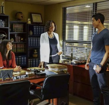 """To A Better Place"" -- The BAU investigates three similar crimes in which victims' remains are discovered in old suitcases, on CRIMINAL MINDS, Wednesday, Oct. 4 (10:00-11:00 PM, ET/PT) on the CBS Television Network. Pictured: Paget Brewster (Emily Prentiss), Aisha Tyler (Dr. Tara Lewis), Daniel Henney (Matt Simmons) Photo: Sonja Flemming/CBS ©2017 CBS Broadcasting, Inc. All Rights Reserved"