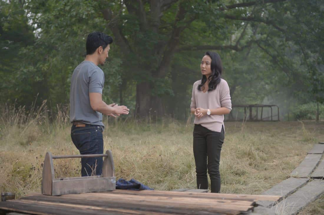 "THE EXORCIST:  L-R:  John Cho and Li Jun Li in the ""Safe as Houses"" episode of THE EXORCIST airing Friday, Oct. 5 (9:01-10:00 PM ET/PT) on FOX.  ©2017 Fox Broadcasting Co.  Cr:  Sergei Bachlakov/FOX"