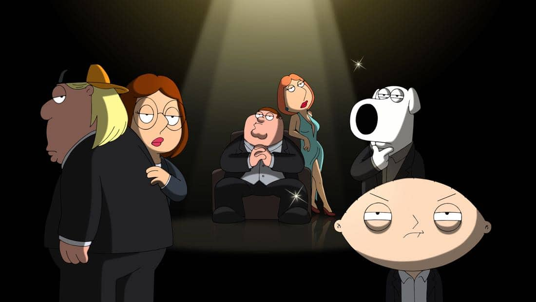 "FAMILY GUY: Tired of not winning an Emmy, Peter embarks on his own For Your Consideration campaign for FAMILY GUY in the ""Emmy-Winning Episode"" episode of FAMILY GUY airing Sunday, Oct. 1 (9:00-9:30 PM ET/PT) on FOX. FAMILY GUY ™ and © 2017 TCFFC ALL RIGHTS RESERVED. CR: FOX"