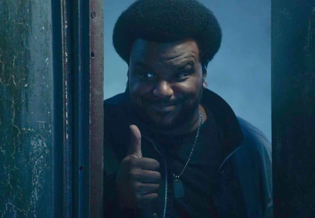 GHOSTED: Craig Robinson in the pilot episode of GHOSTED premiering Sunday, Oct. 1 (8:30-9:00 PM ET/PT) on FOX. ©2017 Fox Broadcasting CO. CR: Kevin Estrada/FOX