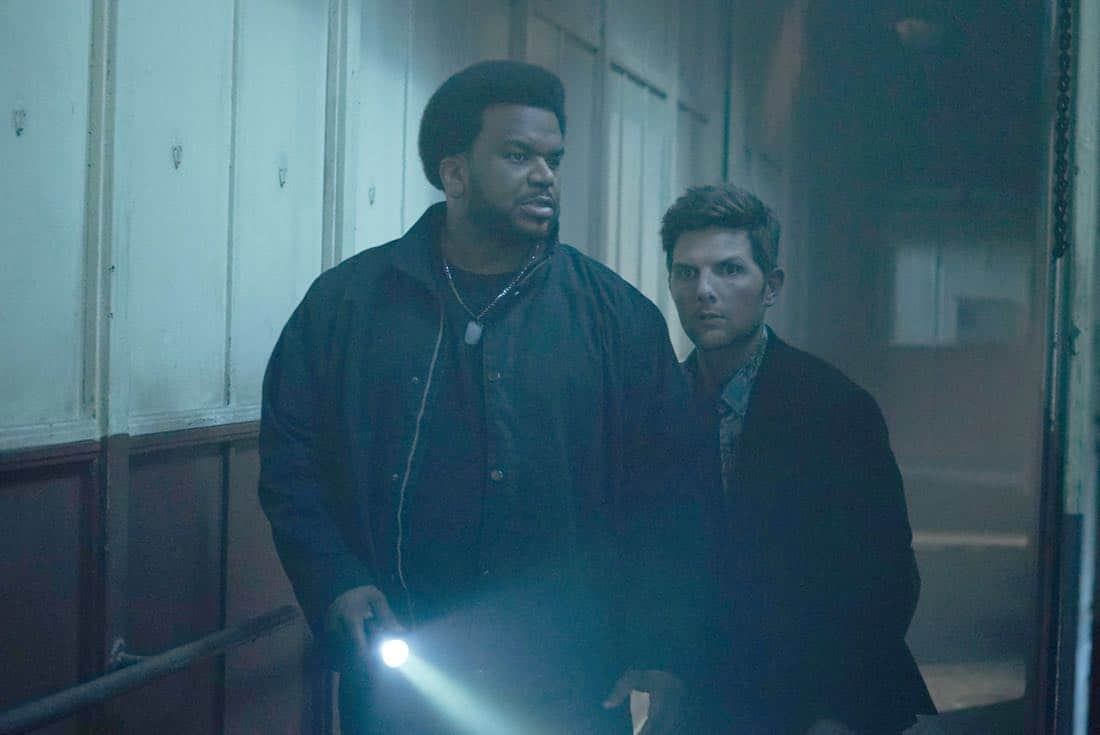 GHOSTED:  L-R: Craig Robinson and Adam Scott in GHOSTED premiering this fall on FOX. ©2017 Fox Broadcasting Co.  Cr:  Kevin Estrada/Fox