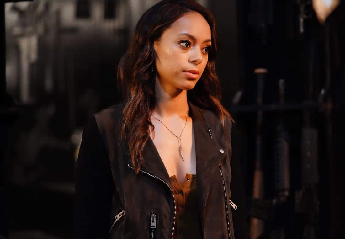 "GHOSTED: Amber Stevens West in the ""Jermaine the Zombie"" episode of GHOSTED airing Sunday, Oct. 8 (8:30-9:00 PM ET/PT) on FOX. ©2017 Fox Broadcasting Co. CR: Kevin Estrada/FOX"