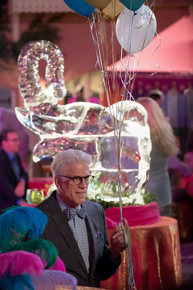 "THE GOOD PLACE -- ""Existential Crisis"" Episode 205 -- Pictured: Ted Danson as Michael -- (Photo by: Colleen Hayes/NBC)"