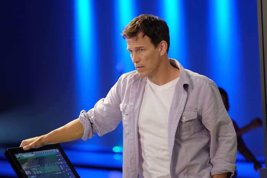 "THE GIFTED:  Stephen Moyer in the ""A New World"" episode of THE GIFTED airing Monday, Oct. 9 (9:00-10:00 PM ET/PT) on FOX.  ©2017 Fox Broadcasting Co.  Cr:  Eliza Morse/FOX"