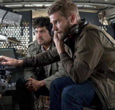 "THE BRAVE -- ""The Greater Good"" Episode 105 -- Pictured: (l-r) Lakin Valdez as Hugo Vargez, Mike Vogel as Captian Adam Dalton -- (Photo by: Lewis Jacobs/NBC)"