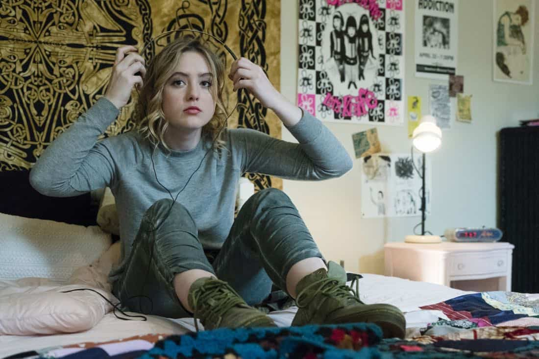 Kathryn Newton as Joanie Clark - Halt and Catch Fire _ Season 4, Episode 8 - Photo Credit: Tina Rowden/AMC
