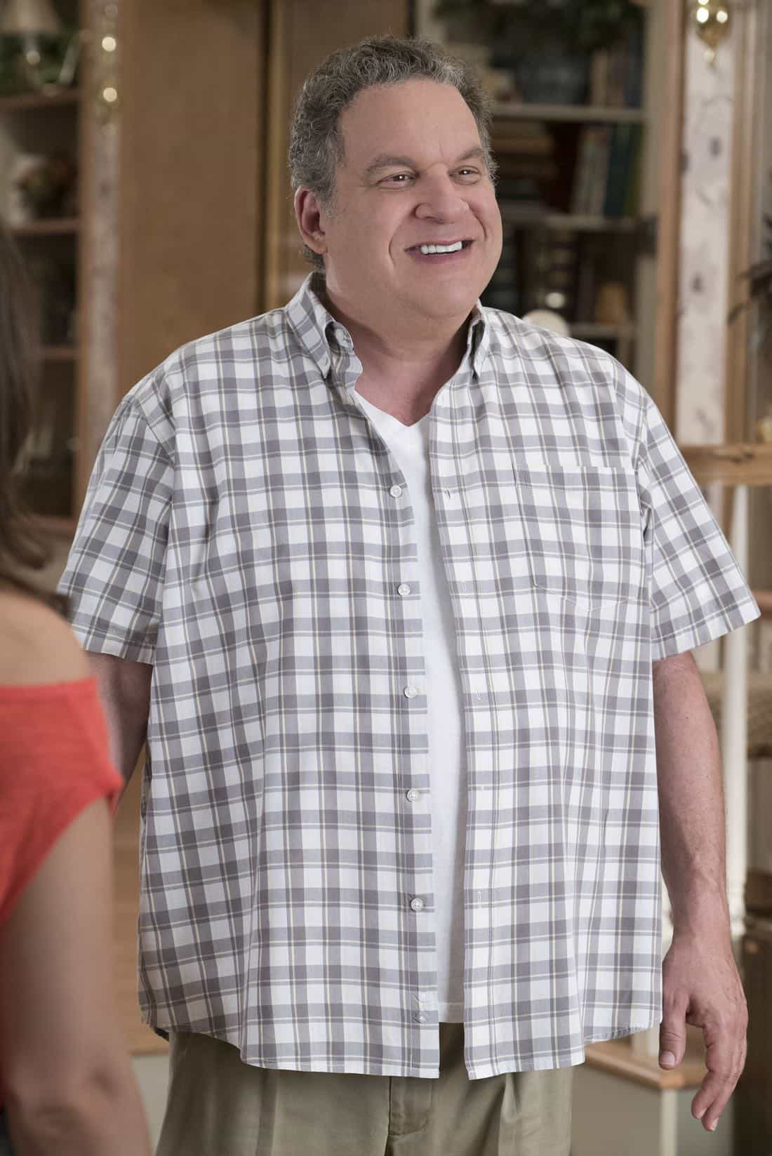 """THE GOLDBERGS - """"Hogan Is My Grandfather"""" - Adam is assigned a term paper on a great person in history, and he decides to make a movie about his grandfather but finds all of Pop's war stories mundane.  Pops takes matters into his own hands and decides to tell more exciting stories based on an old television series. Meanwhile, Erica returns home to confront Beverly for over-mothering her. Murray insists Beverly teach Erica and Barry basic life skills, but she worries Erica and Barry will be too independent, on """"The Goldbergs,"""" WEDNESDAY, OCTOBER 4 (8:00-8:30 p.m. EDT), on The ABC Television Network. (ABC/Ron Tom) JEFF GARLIN"""