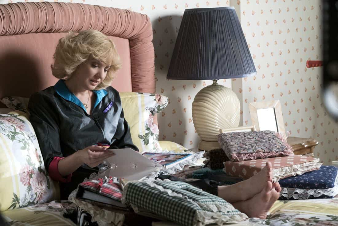 """THE GOLDBERGS - """"Hogan Is My Grandfather"""" - Adam is assigned a term paper on a great person in history, and he decides to make a movie about his grandfather but finds all of Pop's war stories mundane.  Pops takes matters into his own hands and decides to tell more exciting stories based on an old television series. Meanwhile, Erica returns home to confront Beverly for over-mothering her. Murray insists Beverly teach Erica and Barry basic life skills, but she worries Erica and Barry will be too independent, on """"The Goldbergs,"""" WEDNESDAY, OCTOBER 4 (8:00-8:30 p.m. EDT), on The ABC Television Network. (ABC/Ron Tom) WENDI MCLENDON-COVEY"""