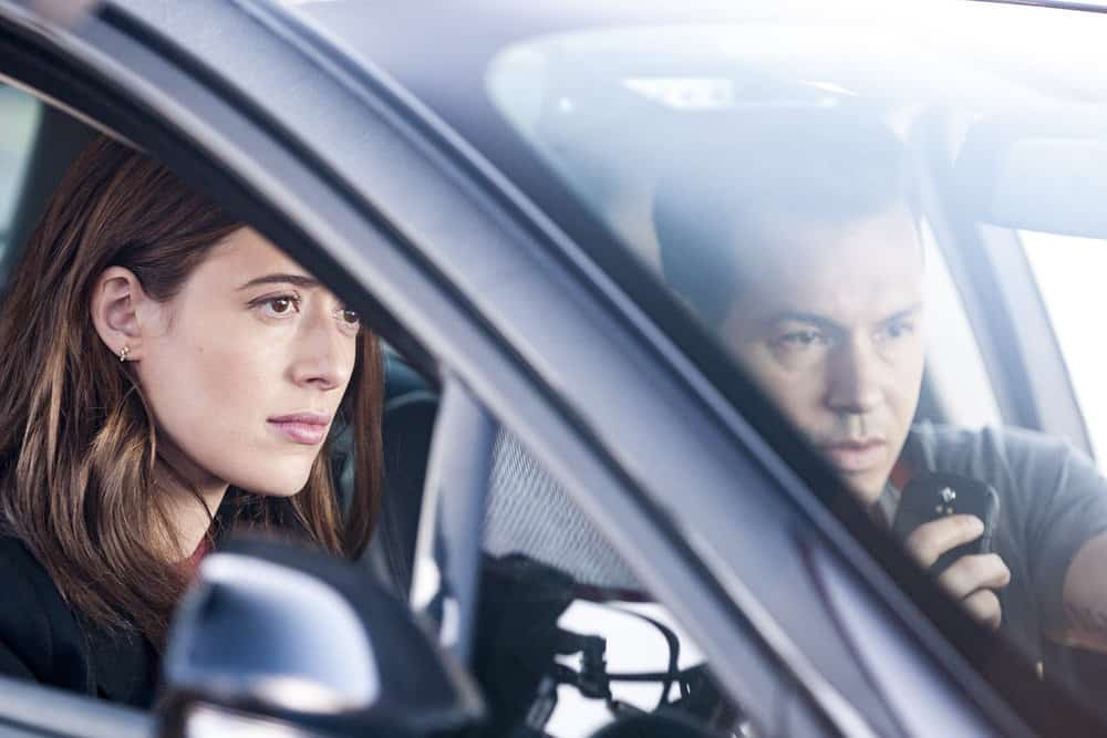 "CHICAGO P.D. -- ""Promise"" Episode 503 -- Pictured: (l-r) Marina Squerciati as Kim Burgess, Jon Seda as Antonio Dawson -- (Photo by: Matt Dinerstein/NBC)"
