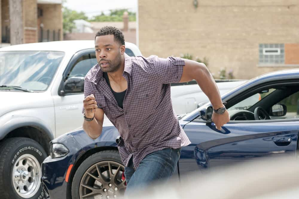 "CHICAGO P.D. -- ""Promise"" Episode 503 -- Pictured: LaRoyce Hawkins as Kevin Atwater -- (Photo by: Matt Dinerstein/NBC)"