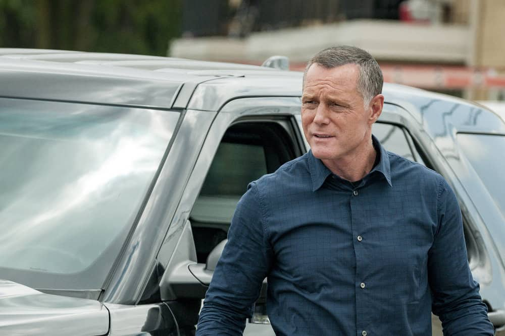 "CHICAGO P.D. -- ""Promise"" Episode 503 -- Pictured: Jason Beghe as Hank Voight -- (Photo by: Matt Dinerstein/NBC)"