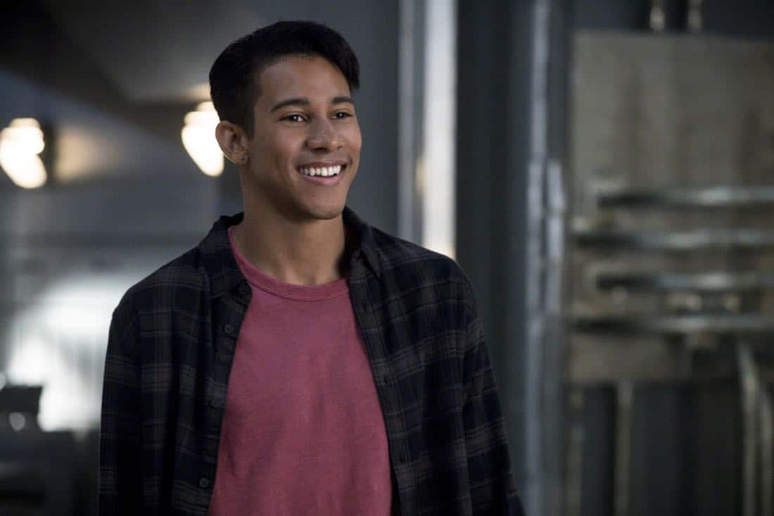 "The Flash -- ""Mixed Signals"" -- Image Number: FLA402a_0365b.jpg -- Pictured: Keiynan Lonsdale as Wally West -- Photo: Jack Rowand/The CW -- © 2017 The CW Network, LLC. All rights reserved."