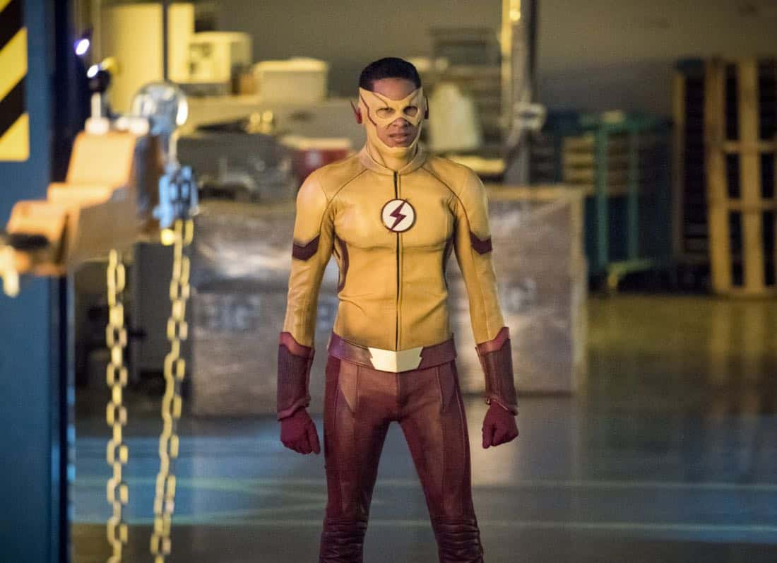 "The Flash -- ""Mixed Signals"" -- Image Number: FLA402b_0070b.jpg -- Pictured: Keiynan Lonsdale as Wally West -- Photo: Dean Buscher/The CW -- © 2017 The CW Network, LLC. All rights reserved."
