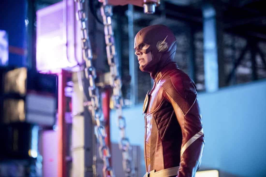 "The Flash -- ""Mixed Signals"" -- Image Number: FLA402b_0141b.jpg -- Pictured: Grant Gustin as The Flash -- Photo: Dean Buscher/The CW -- © 2017 The CW Network, LLC. All rights reserved."