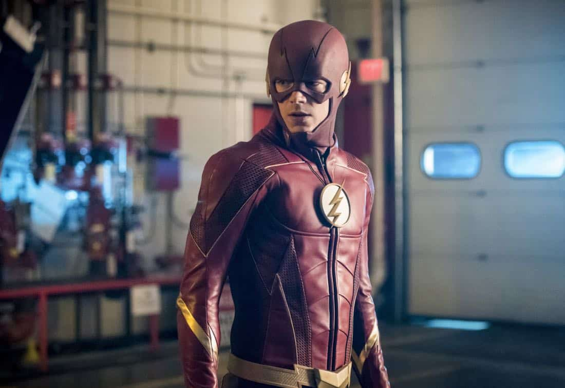 "The Flash -- ""Mixed Signals"" -- Image Number: FLA402b_0353b2.jpg -- Pictured: Grant Gustin as The Flash -- Photo: Dean Buscher/The CW -- © 2017 The CW Network, LLC. All rights reserved."