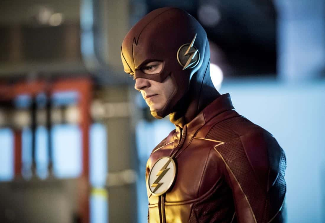 "The Flash -- ""Mixed Signals"" -- Image Number: FLA402b_0384b.jpg -- Pictured: Grant Gustin as The Flash -- Photo: Dean Buscher/The CW -- © 2017 The CW Network, LLC. All rights reserved."