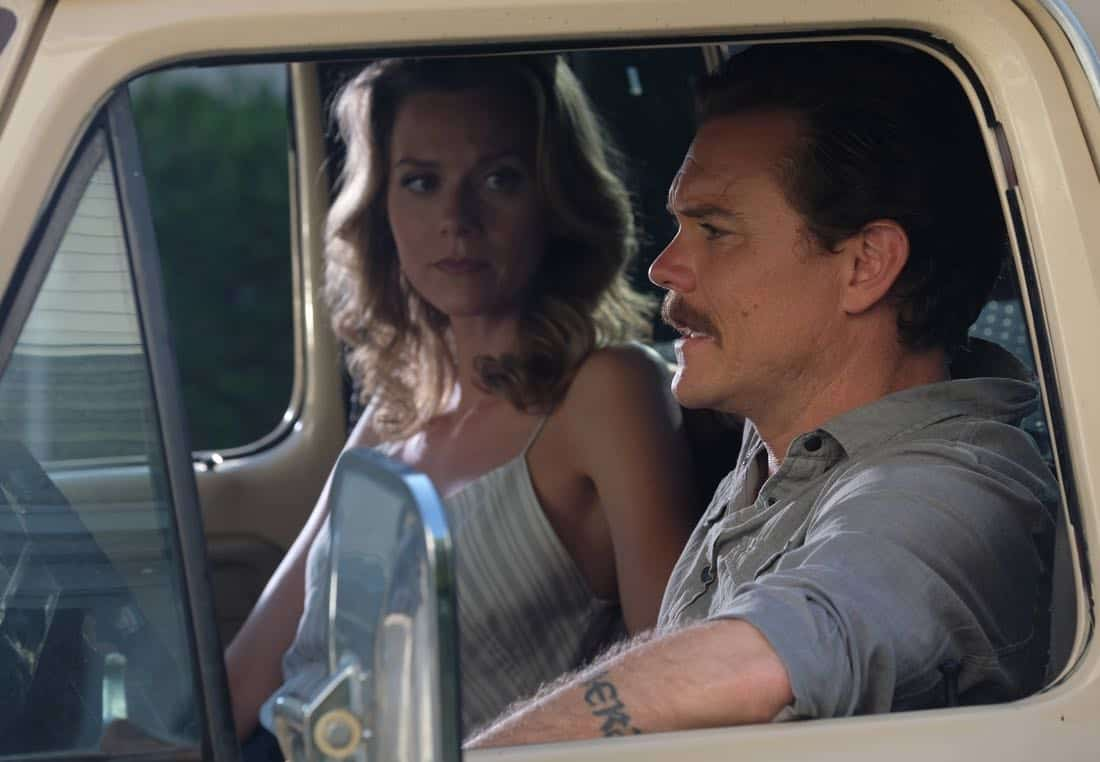 "LETHAL WEAPON: Pictured L-R: Guest star Hillarie Burton and Clayne Crawford in the ""Born To Run"" episode of LETHAL WEAPON airing Tuesday, Oct. 10 (8:00-9:00 PM ET/PT) on FOX. ©2017 Fox Broadcasting Co. CR: Darren Michaels/FOX"