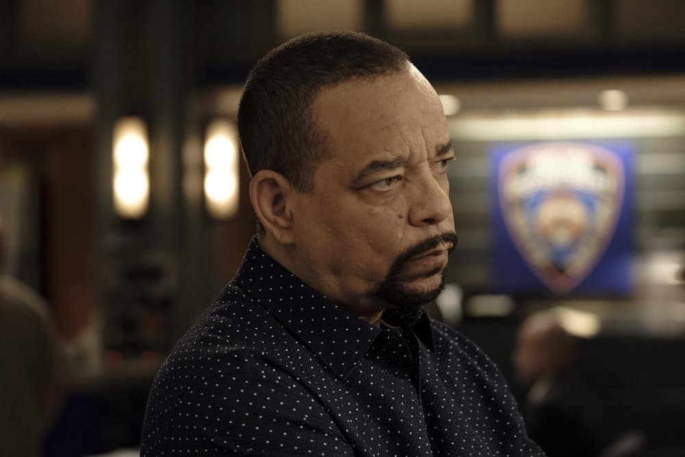 """LAW & ORDER: SPECIAL VICTIMS UNIT -- """"Contrapasso"""" Episode 1903 -- Pictured: Ice T as Detective Odafin """"Fin"""" Tutuola -- (Photo by Christopher Saunders/NBC)"""