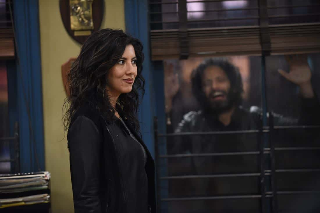 "BROOKLYN NINE-NINE: Stephanie Beatriz in the ""Kicks"" episode of BROOKLYN NINE-NINE airing Tuesday, Oct. 10 (9:30-10:00 PM ET/PT) on FOX. CR: Ray Mickshaw / FOX"