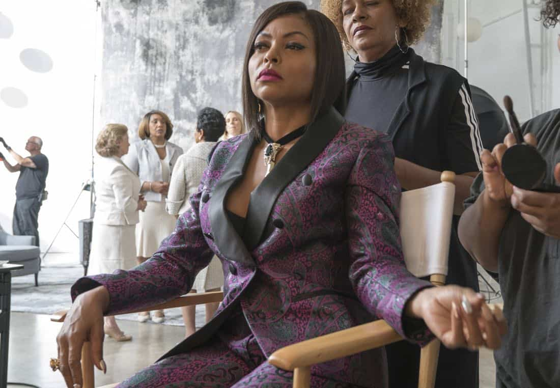 """EMPIRE: Taraji P. Henson in the """"Evil Manners"""" episode of EMPIRE airing Wednesday, Oct. 11 (8:00-9:00 PM ET/PT) on FOX. ©2017 Fox Broadcasting Co. CR: Chuck Hodes/FOX"""