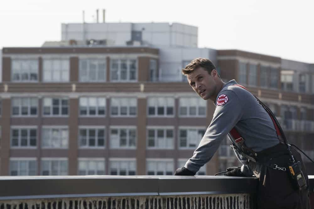 "CHICAGO FIRE -- ""An Even Bigger Surprise"" Episode 603 -- Pictured: Jesse Spencer as Matthew Casey -- (Photo by: Elizabeth Morris/NBC)"