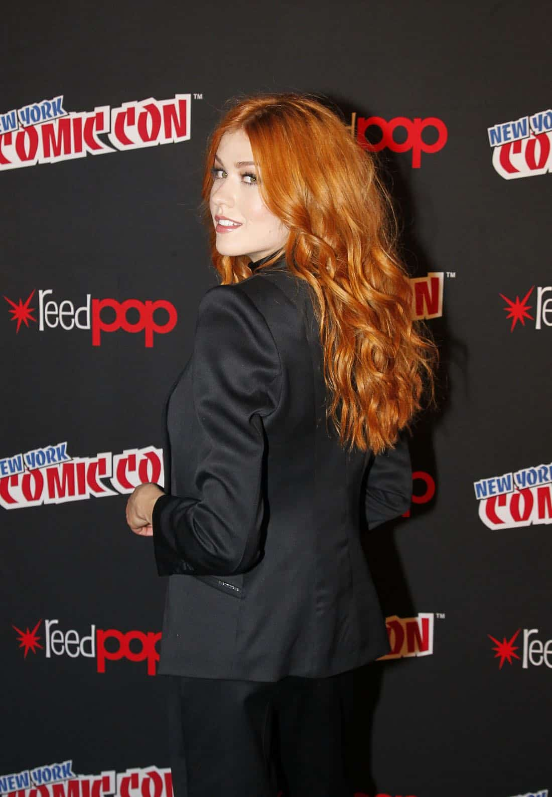 """NY COMIC-CON 2017 - Freeform's genre programming was out in full force at this year's New York Comic Con on Saturday, October 7th with executive producers and cast from the hit series """"Shadowhunters,"""" """"Beyond,"""" and new original series """"Siren.""""  (ABC/Lou Rocco) KATHERINE MCNAMARA"""