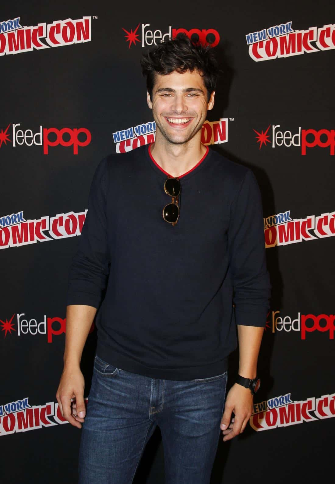 """NY COMIC-CON 2017 - Freeform's genre programming was out in full force at this year's New York Comic Con on Saturday, October 7th with executive producers and cast from the hit series """"Shadowhunters,"""" """"Beyond,"""" and new original series """"Siren.""""  (ABC/Lou Rocco) MATTHEW DADDARIO"""