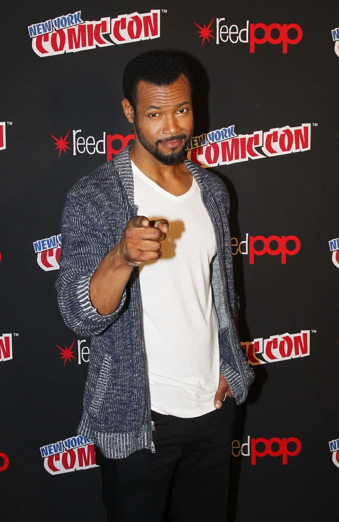 """NY COMIC-CON 2017 - Freeform's genre programming was out in full force at this year's New York Comic Con on Saturday, October 7th with executive producers and cast from the hit series """"Shadowhunters,"""" """"Beyond,"""" and new original series """"Siren.""""  (ABC/Lou Rocco) ISAIAH MUSTAFA"""