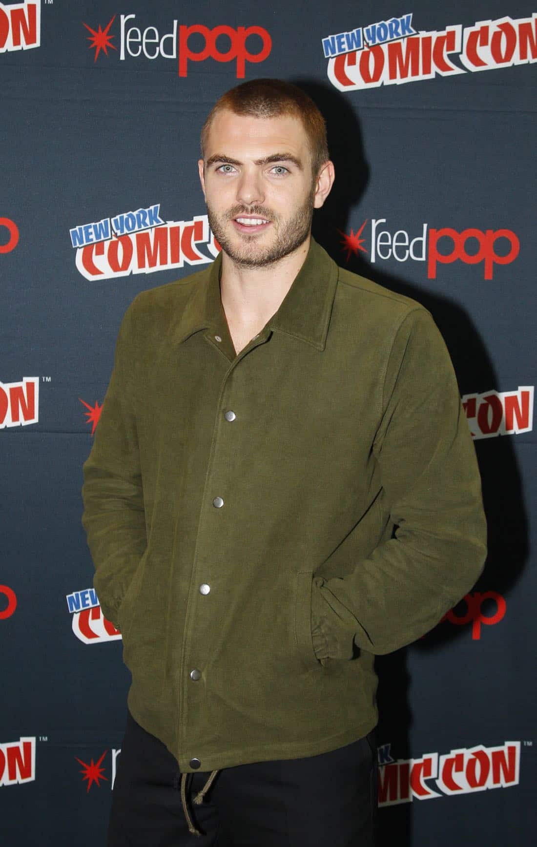 "NY COMIC-CON 2017 - SIREN - Freeform's genre programming was out in full force at this year's New York Comic Con on Saturday, October 7th with executive producers and cast from the hit series ""Shadowhunters,"" ""Beyond,"" and new original series ""Siren.""  (Freeform/Lou Rocco) ALEX ROE"