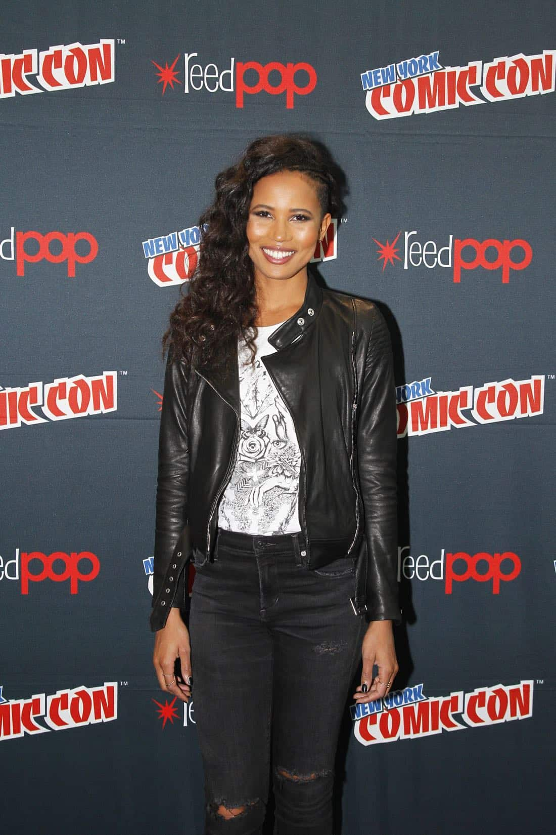 "NY COMIC-CON 2017 - SIREN - Freeform's genre programming was out in full force at this year's New York Comic Con on Saturday, October 7th with executive producers and cast from the hit series ""Shadowhunters,"" ""Beyond,"" and new original series ""Siren."" (Freeform/Lou Rocco) FOLA EVANS-AKINGBOLA"
