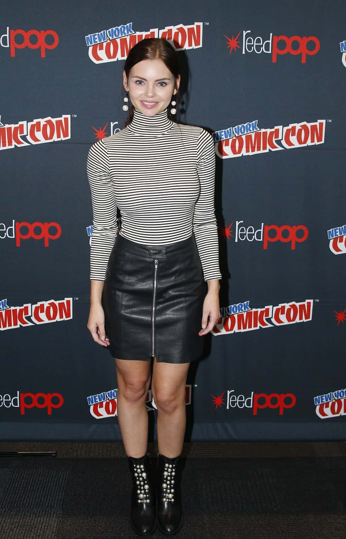 "NY COMIC-CON 2017 - SIREN - Freeform's genre programming was out in full force at this year's New York Comic Con on Saturday, October 7th with executive producers and cast from the hit series ""Shadowhunters,"" ""Beyond,"" and new original series ""Siren."" (Freeform/Lou Rocco) ELINE POWELL"
