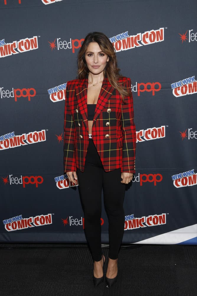"NEW YORK COMIC CON -- ""Reverie"" -- Pictured: Sarah Shahi -- (Photo by: Heidi Gutman/NBC)"