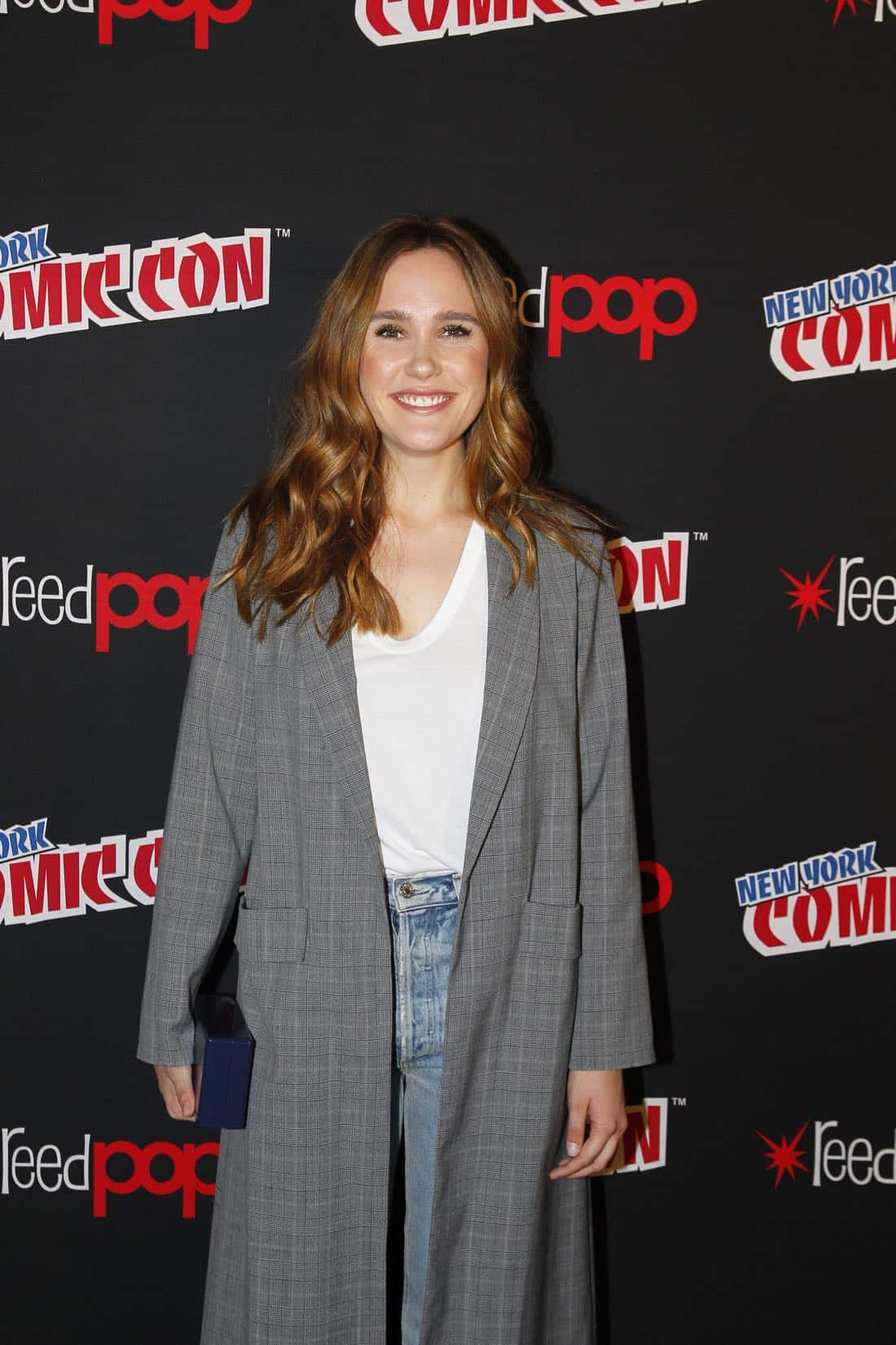"NY COMIC-CON 2017 - Freeform's genre programming was out in full force at this year's New York Comic Con on Saturday, October 7th with executive producers and cast from the hit series ""Shadowhunters,"" ""Beyond,"" and new original series ""Siren.""  (ABC/Lou Rocco) EDEN BROLIN"