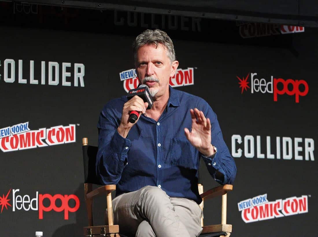 "NY COMIC-CON - BEYOND - Freeform's genre programming was out in full force at this year's New York Comic Con on Saturday, October 7th with executive producers and cast from the hit series ""Shadowhunters,"" ""Beyond,"" and new original series ""Siren."" (Freeform/Lou Rocco) TIM KRING (EXECUTIVE PRODUCER)"