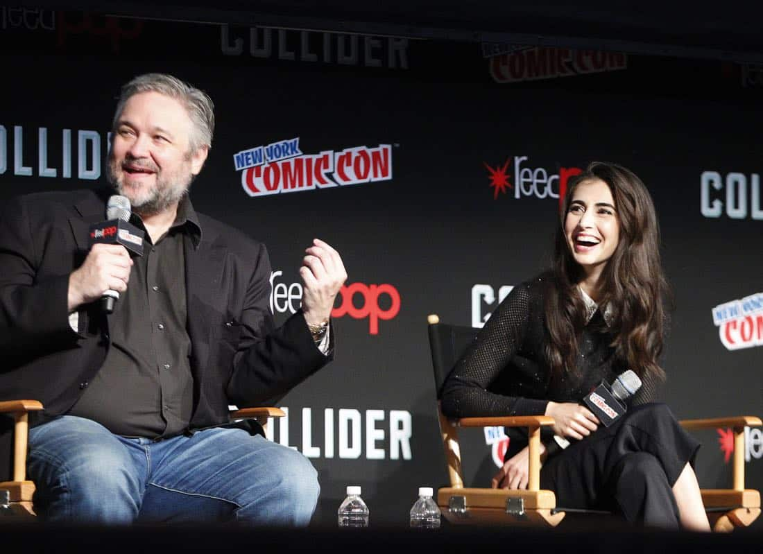 "NY COMIC-CON - BEYOND - Freeform's genre programming was out in full force at this year's New York Comic Con on Saturday, October 7th with executive producers and cast from the hit series ""Shadowhunters,"" ""Beyond,"" and new original series ""Siren.""  (Freeform/Lou Rocco) DAVID EICK (EXECUTIVE PRODUCER), DILAN GWYN"