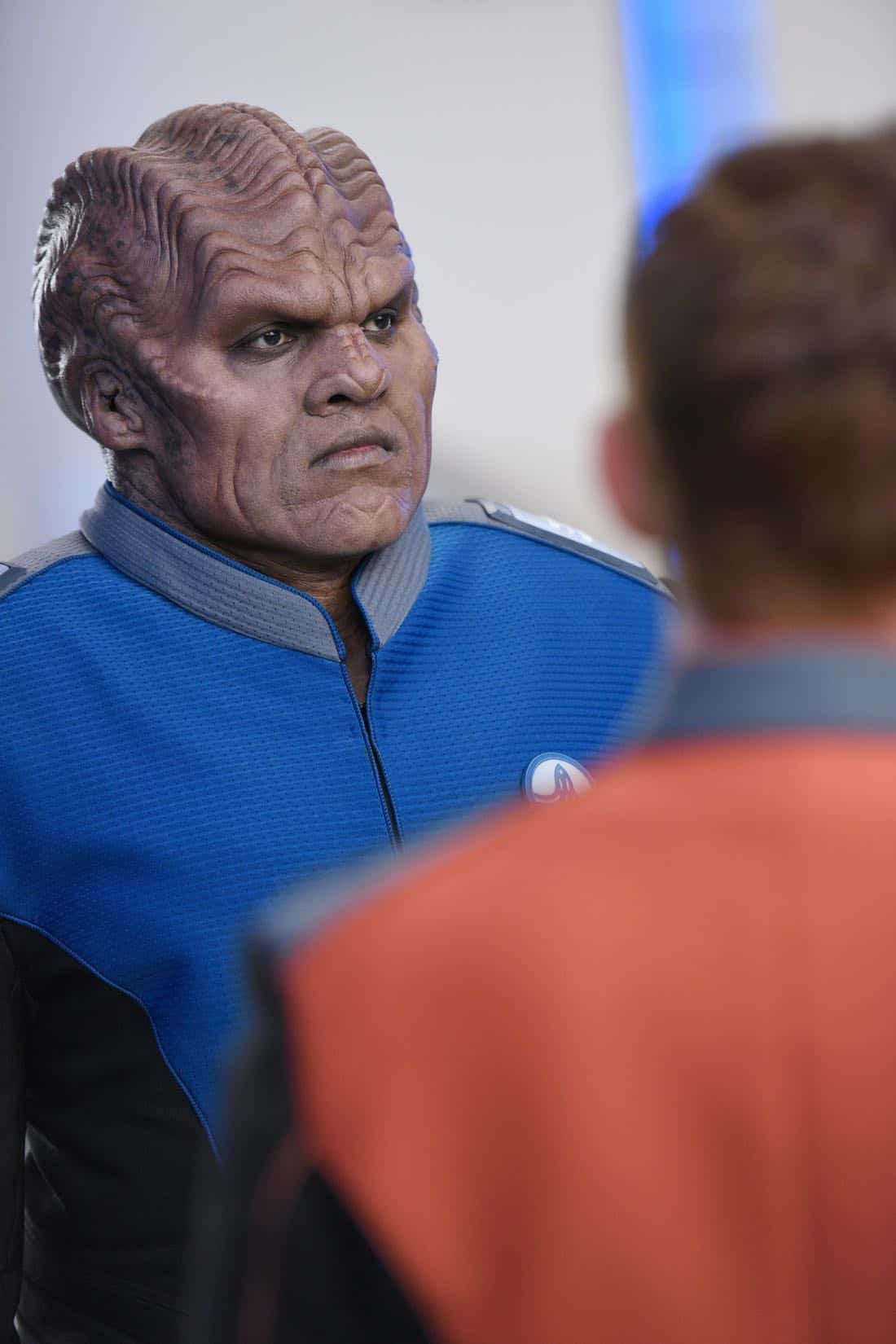 "THE ORVILLE: Peter Macon in the ""Krill"" episode of THE ORVILLE airing Thursday, Oct. 12 (9:01-10:00 PM ET/PT) on FOX. ©2017 Fox Broadcasting Co. Cr: Michael Becker/FOX"
