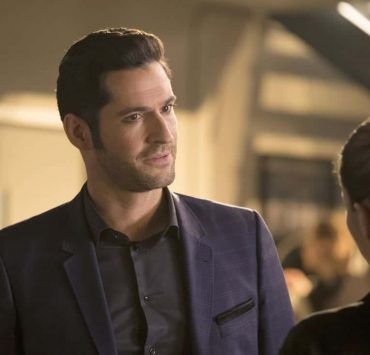 "LUCIFER: Tom Ellis in the ""Mr. and Mrs. Mazikeen Smith"" episode of LUCIFER airing Monday, Oct. 16 (8:00-9:00 PM ET/PT) on FOX. CR: MICHAEL COURTNEY/FOX"
