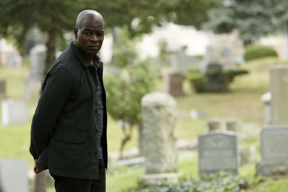 "THE BLACKLIST -- ""Ilyas Surkov (#54)"" Episode 505 -- Pictured: Hisham Tawfiq as Dembe Zuma -- (Photo by: Will Hart/NBC)"