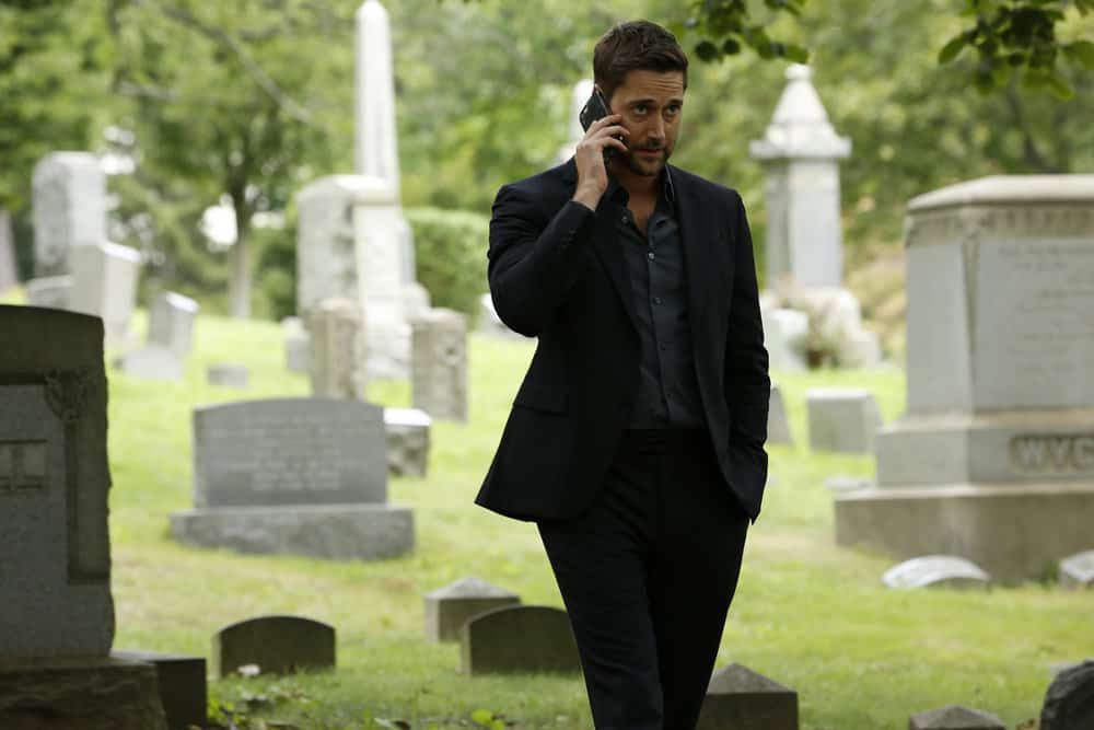 "THE BLACKLIST -- ""Ilyas Surkov (#54)"" Episode 505 -- Pictured: Ryan Eggold as Tom Keen -- (Photo by: Will Hart/NBC)"