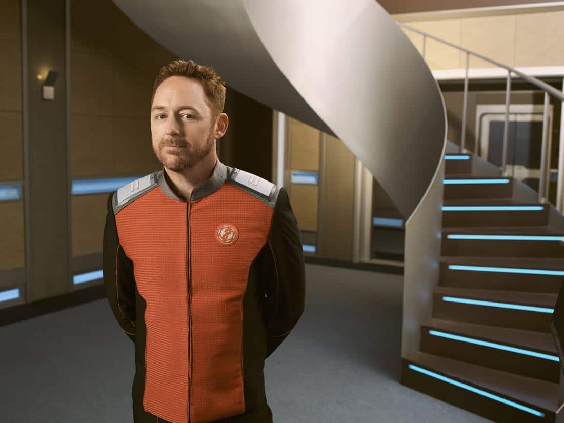 "THE ORVILLE: Scott Grimes as Gordon in the new space adventure series THE ORVILLE from the creator of ""Family Guy."" The first part of the special two-part series premiere of THE ORVILLE will air Sunday, Sept. 10 (8:00-9:00 PM ET/PT), immediately following the NFL ON FOX Doubleheader. ©2017 Fox Broadcasting Co. Cr: Noah Schutz/FOX"