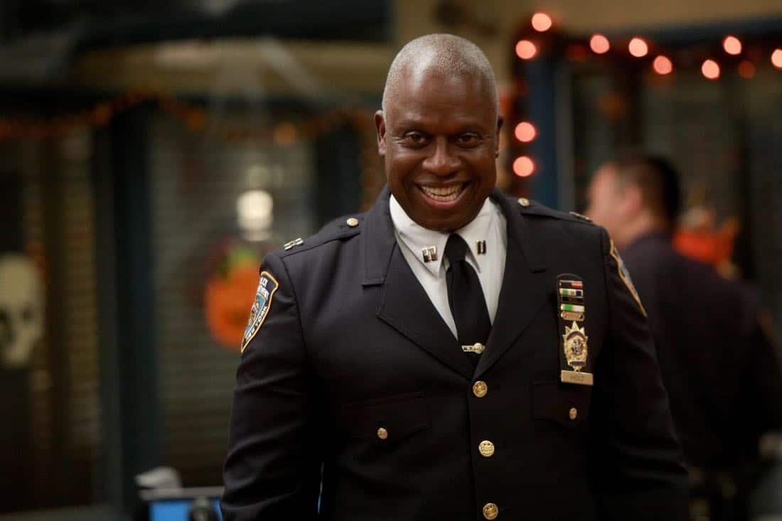 BROOKLYN NINE-NINE: Andre Braugher in the ???HalloVeen??? episode of BROOKLYN NINE-NINE airing Tuesday, Oct. 17 (9:30-10:00 PM ET/PT) on FOX. CR: JORDIN ALTHAUS/FOX