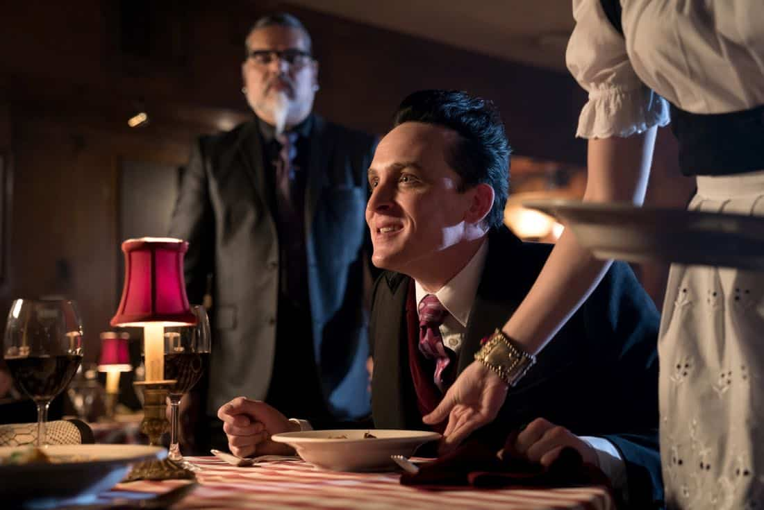 """GOTHAM: Robin Lord Taylor in the """"A Dark Knight: The Blade's Path"""" episode of GOTHAM airing Thursday, Oct. 19 (8:00-9:01 PM ET/PT) on FOX.  CR:  Jessica Miglio/FOX"""